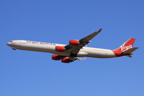 Virgin Atlantic A340-600(G-VRED)