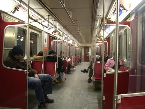 TTC Bombardier Subway Car_1345