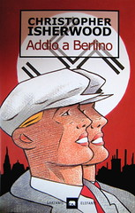 christopher isherwood, Addio a Berlino, Garzanti 1999, alla cop.: disegno di ELFO/Storiestrisce, (part.), 1