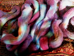 Hand Dyed in Wilton 8 oz Targhee
