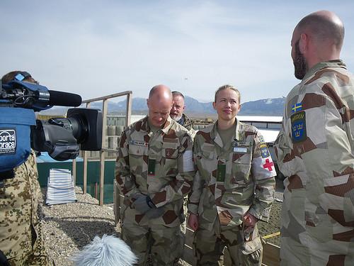 Intervju med plutonchefen Cecilia