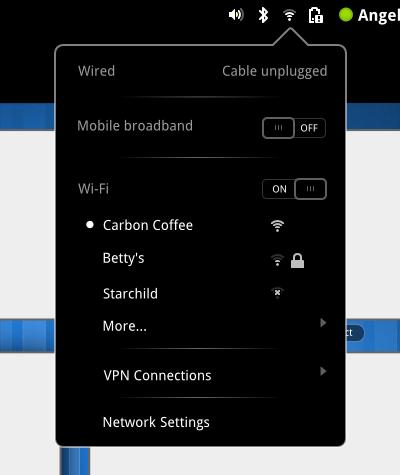 network-menu