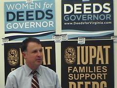 Creigh Deeds Speaks At UMW