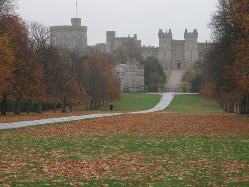Windsor Castle from the outside
