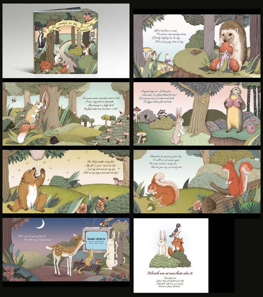 Libro infantil con un toque creado para el canal de adultos Beate Uhse. Click en la imagen para ver y leer mejor