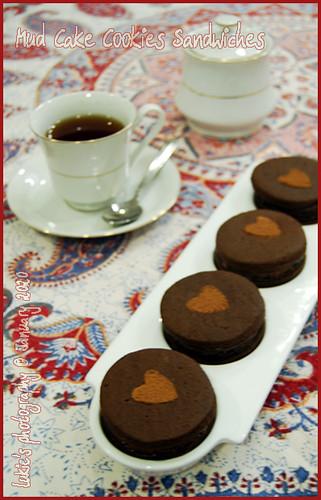 Tea and Choco Mud Cake