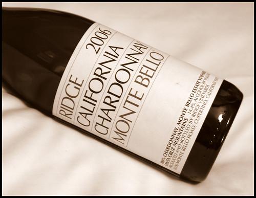 Ridge Monte Bello Chardonnay 2006