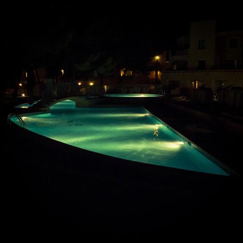 Bain de Minuit (Midnight Bath)- Majorque, 2009, Photo : Gilderic