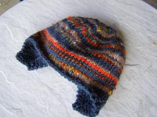 stripe me helmet hat
