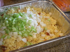 Getting Ready to Mix the Dressing