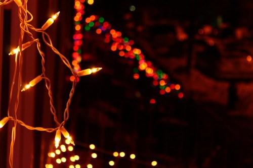 Lights on Oak