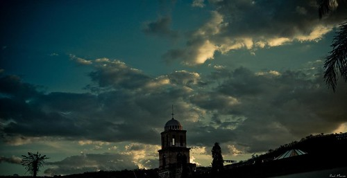 Atardecer cupula basilica