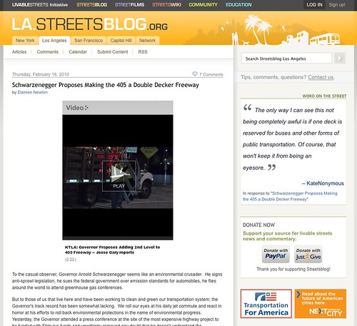 Streetsblog L.A. is going away. But the team promises a new site is coming in its wake.