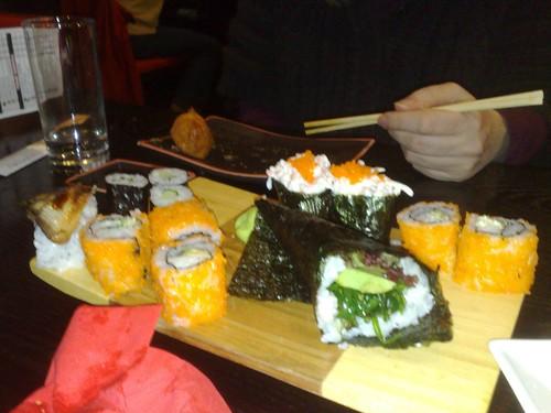 Uit eten met collega's (1)