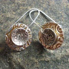 Spinner Disk Earrings #3