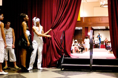 Saints and Sinners Fashion Show - Pull Back The Curtain