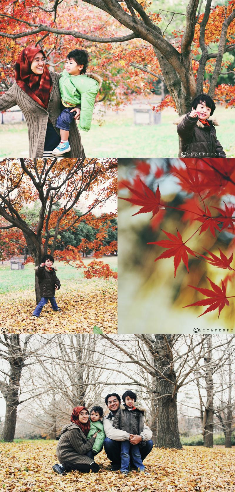 Autumn Family Shot