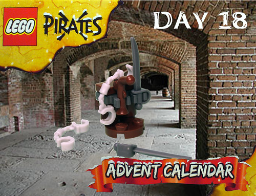 Pirate Advent Calendar Day 18