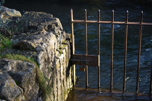 Gate in water