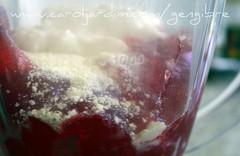 22. Mousse de morango - preparo