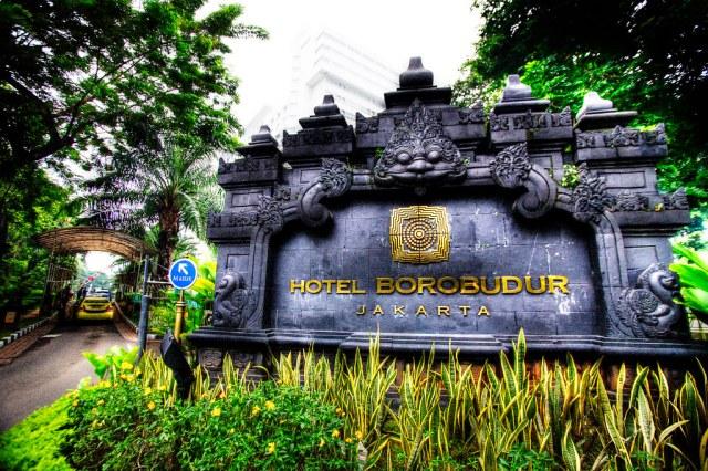 Hotel Borobudur, Jakarta.