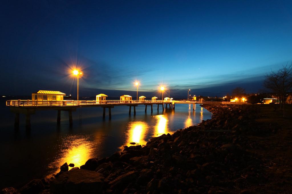 Pier 86 fishing pier
