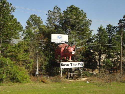 Monument to the Hog, Dothan AL
