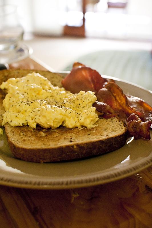 espresso machine scrambled eggs