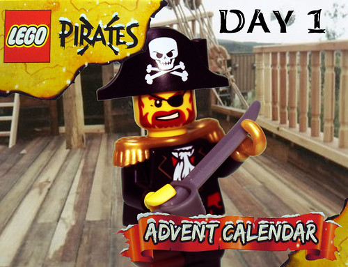 Pirate Advent Calendar Day 1a