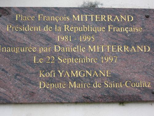 plaque inaugurale