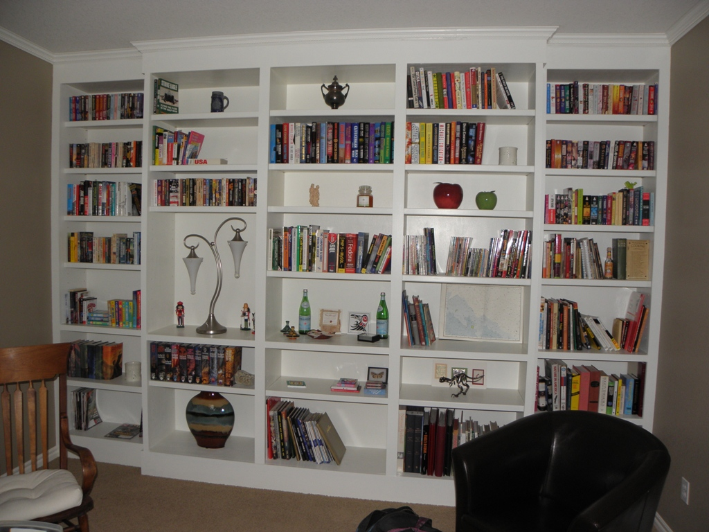 Finished Bookcases