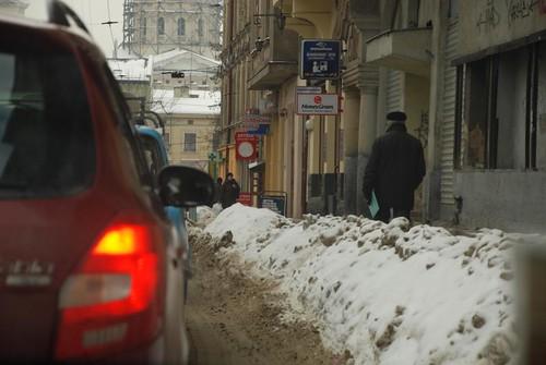 zima zaskoczyła drogowców