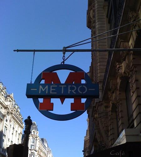 Entrée de métro