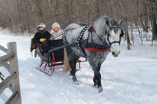 From the Archives:  Sleighing