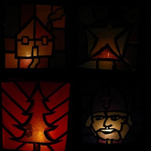 Lanterns mosaic
