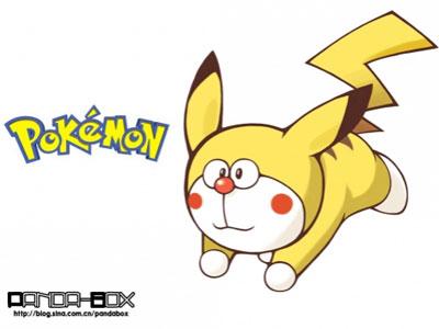 Pikachu Doraemon