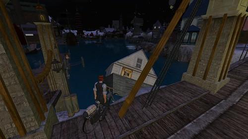 Steelhead: Sunken Houseboat
