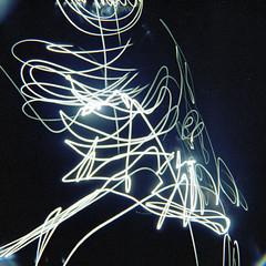 primeiros rolos da Diana - meu primeiro lightpainting