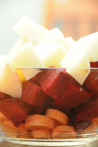 borscht veggies