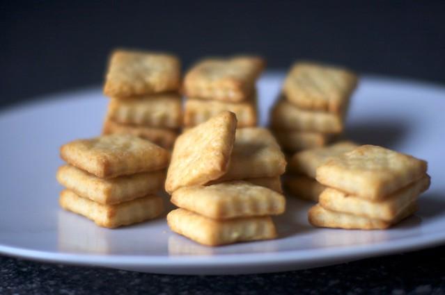 parmesan crackers