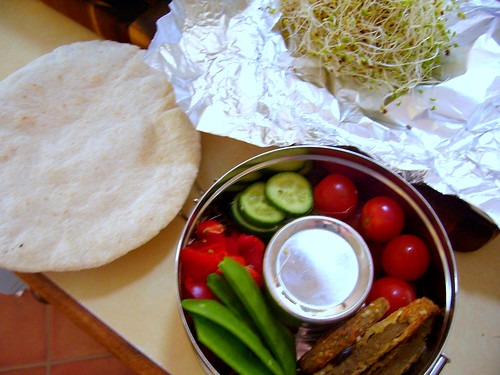 pita lunch