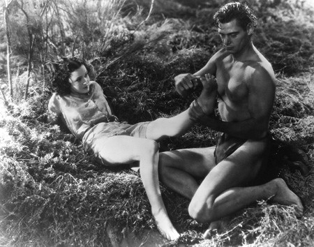 Johnny Weissmuller and Maureen O'Sullivan – Tarzan, the Ape Man (1932)