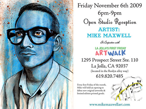 First Friday open studio