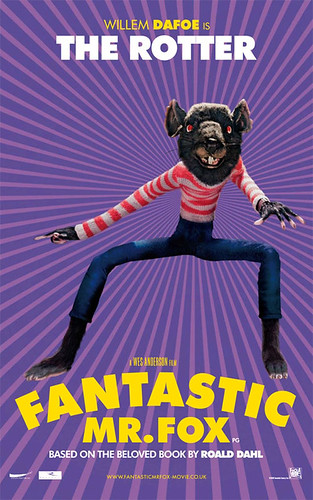 Fantastic Mr. Fox (2009) character poster--The Rotter