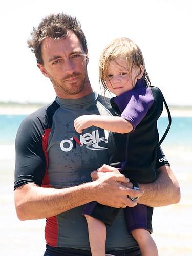 Beach with Daddy Dec 15th