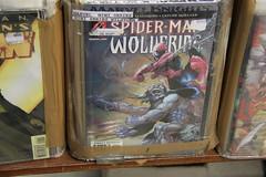 Comics - Spiderman VS Wolverine