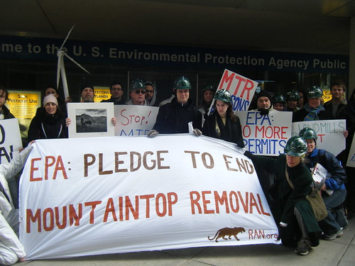 EPA: Pledge to End Mountaintop Removal