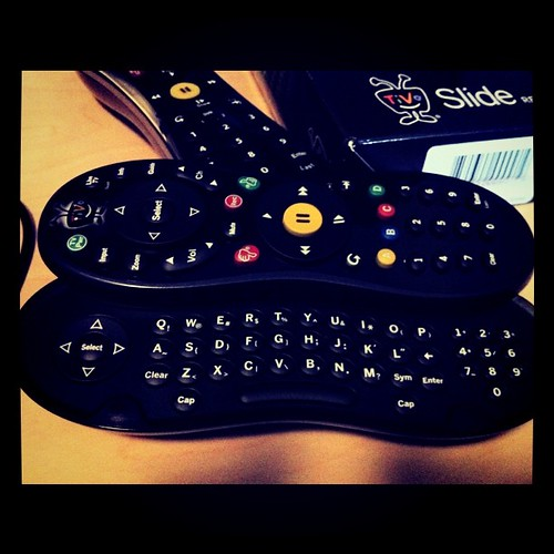 My new TiVo Slide Remote by bradaus