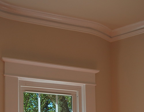 molding detail Dining Room