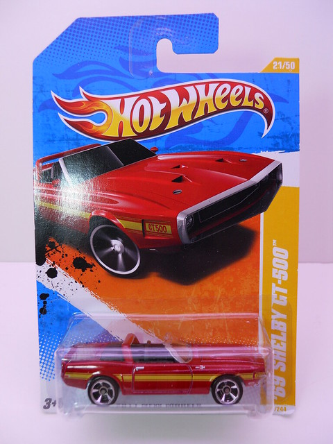 hot wheels red '69 shelby gt-500 (1)